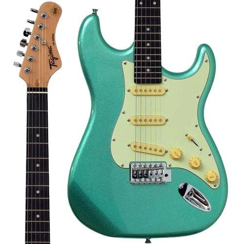 Guitarra Tagima Woodstock TG-500 MSG Surf Green Verde TG500