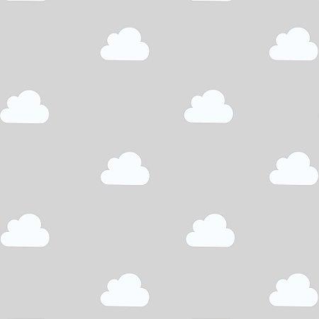 Papel de Parede Adesivo Nuvens