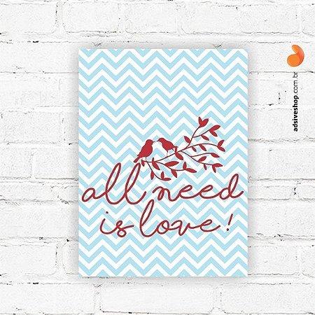 "Placa Decorativa ""Amor Essencial"""