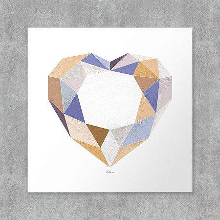 Placa Decorativa Jewel
