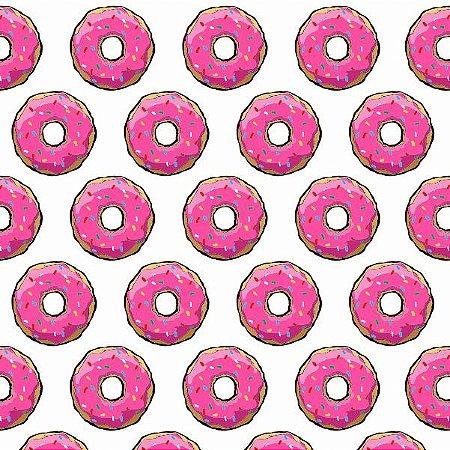 """Papel de Parede Adesivo """"Sugar Donuts"""""""