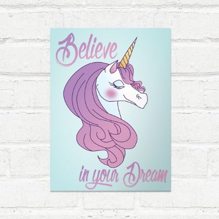Placa Decorativa Believe in Your Dream