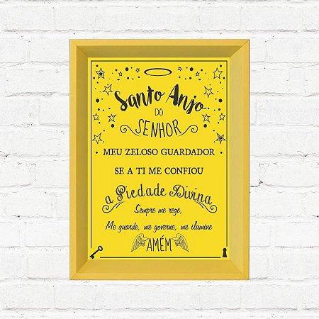 "Quadro Decorativo ""Santo Anjo"""