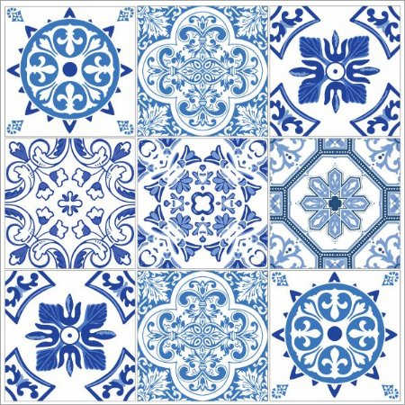 Adesivo Azulejo BRAGANÇA