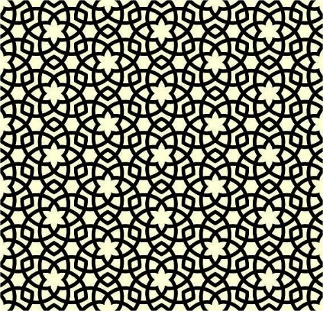 "Papel de Parede Adesivo ""Arabic Ornament"""