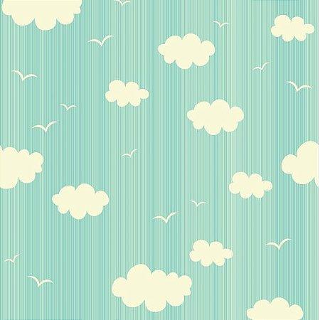 """Papel de Parede Adesivo """"Clouds"""""""
