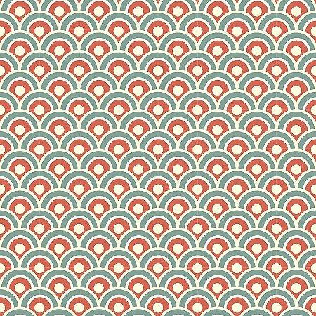 Papel de Parede Adesivo Japanese Wave