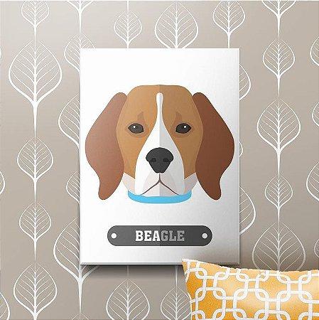 Placa Decorativa Beagle