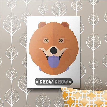 Placa Decorativa Chow Chow