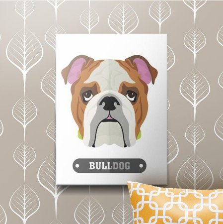 Placa Decorativa Bulldog