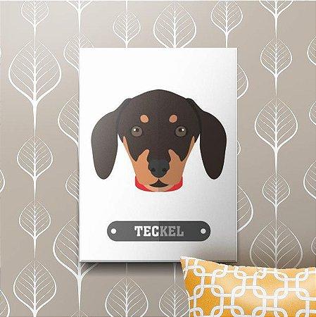 Placa Decorativa Teckel
