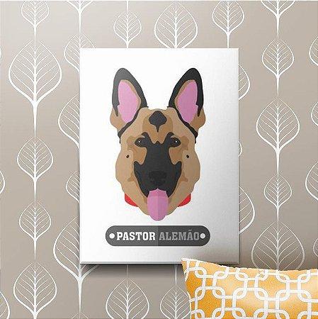 Placa Decorativa Pastor Alemão