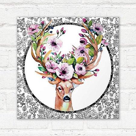 Placa Decorativa Alce