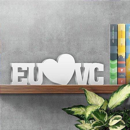 Palavra Decorativa EU e VC