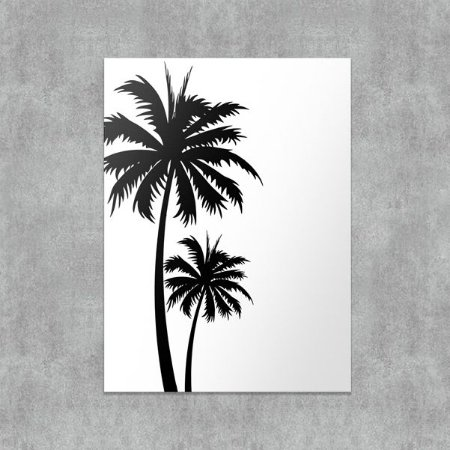 Placa Decorativa Palm
