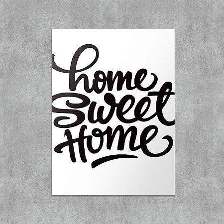 Placa Decorativa Home