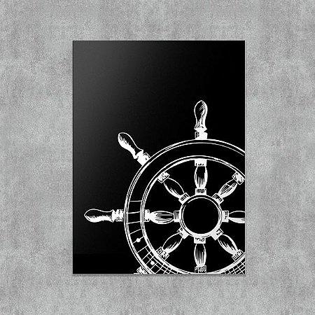 Placa Decorativa Nave