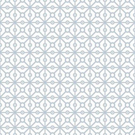 Papel de Parede Adesivo Geometric Blue