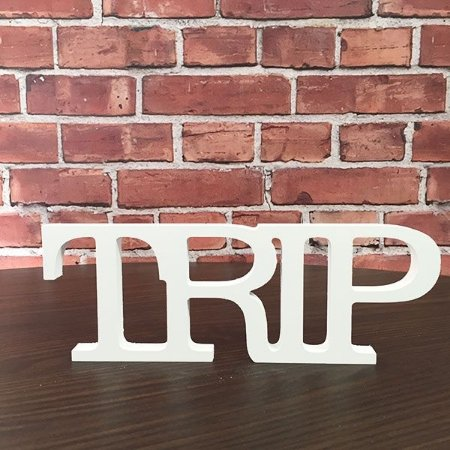 """Palavra Decorativa """"Trip"""""""