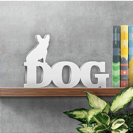 Palavra Decorativa Dog