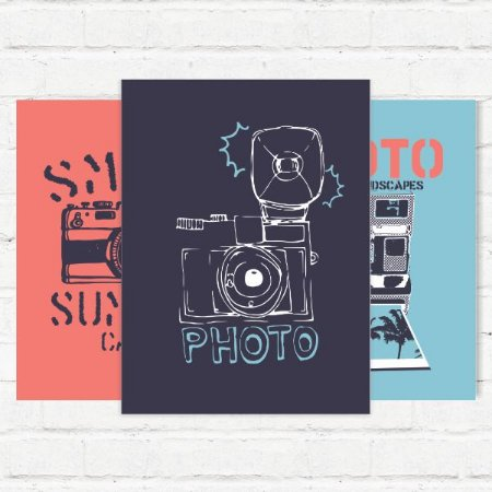 """Placas Decorativas """"Photos"""""""