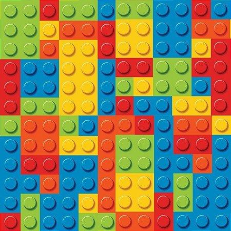 """Papel de Parede Adesivo """"Lego"""""""