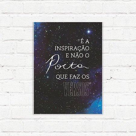 """Placa Decorativa """"Inspiração"""""""