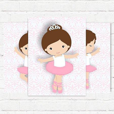 "Placas Decorativas ""Bailarina"""