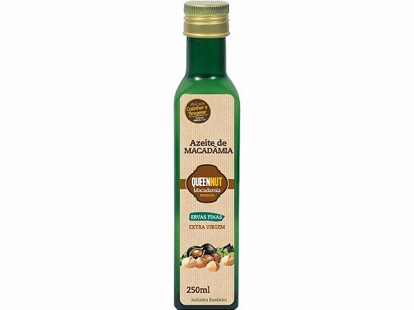 Azeite de Macadâmia - Extra virgem - Ervas finas