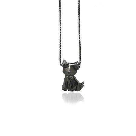 colar cao com gravação de nome - dog necklace with name engraving