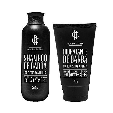 Kit Shampoo e Hidratante de Barba - Cia. da Barba