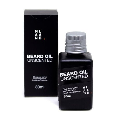 Óleo para Barba Sem Cheiro Beard Oil Unscented 30ml - Man Lab