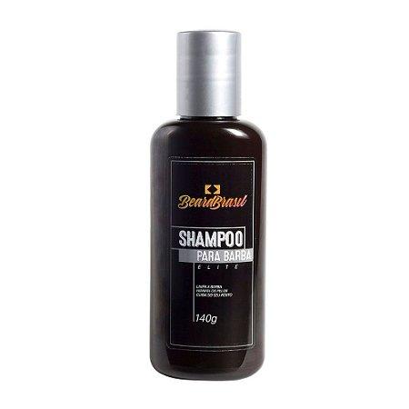 Shampoo para Barba Líquido Elite 140g - Beard Brasil