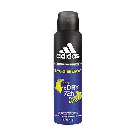 Desodorante Antitranspirante Sport Energy 150ml - Adidas