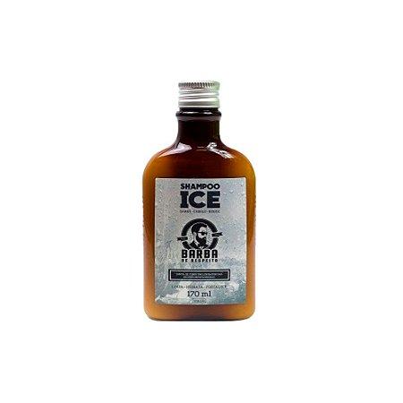 Shampoo para Barba e Cabelo Ice 170ml - Barba de Respeito