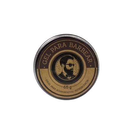 Gel para Barbear 65g - Barba de Respeito