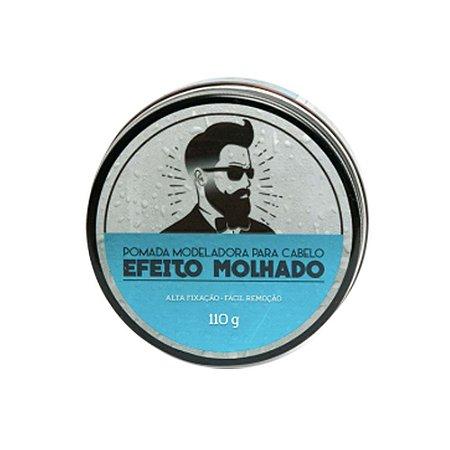 Pomada Modeladora para Cabelo Efeito Molhado 110g - Barba de Respeito