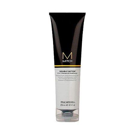 Shampoo e Condicionador Double Hitter 250ml - Paul Mitchell Mitch