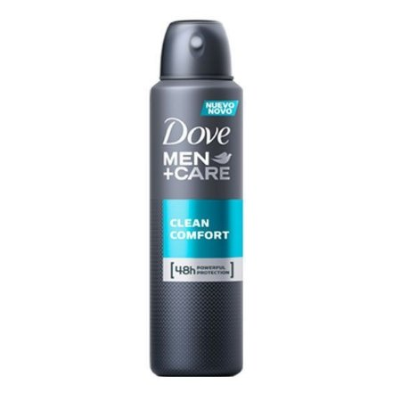 Desodorante Antitranspirante Clean Comfort 150ml - Dove Men+Care