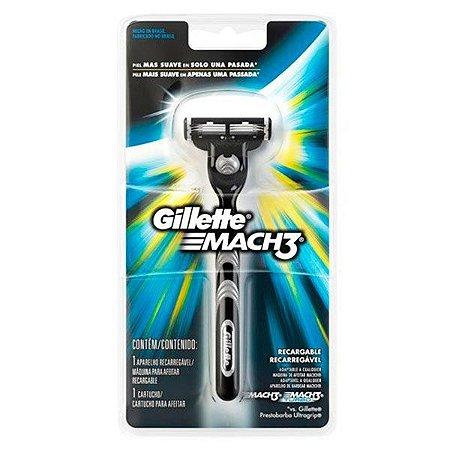 Aparelho de Barbear Mach 3 - Gillette