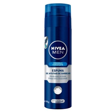 Espuma de Barbear Originals Hidratante 200ml - Nivea Men
