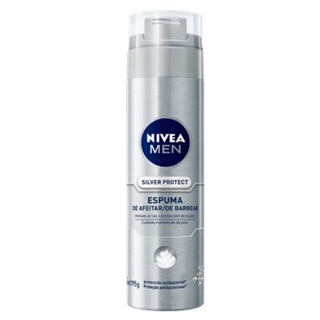 Espuma de Barbear Silver Protect 200ml - Nivea Men