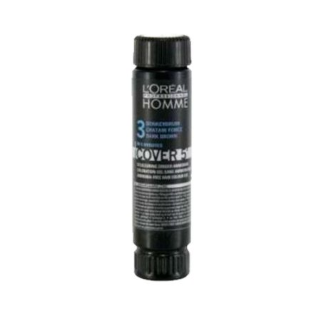 Tonalizante Cover 5' Castanho Escuro 3 50ml - L'Oréal Homme