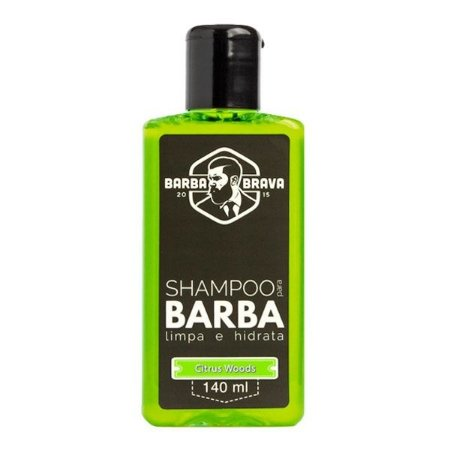 Shampoo para Barba Citrus Woods 140ml - Barba Brava