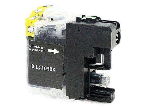 Cartucho para Brother LC103BK | MFC-J6520DW Preto Compatível