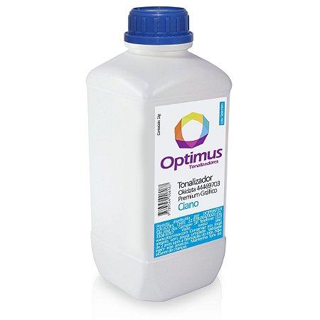 Refil de Toner Okidata MC361 | MC562 | 44469703 Optimus Ciano