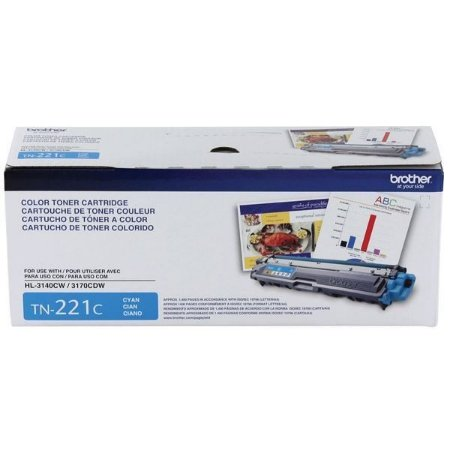 Toner Brother HL 3140CW, MFC 9130, DCP 9020CDW, TN 221C Ciano Original