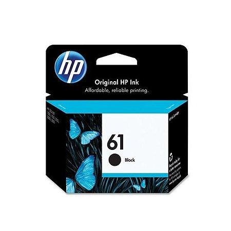 Cartucho HP 2000, HP 61, HP CH561W, HP 2050, HP 3510, HP 4500, HP 1000 Preto 12ml