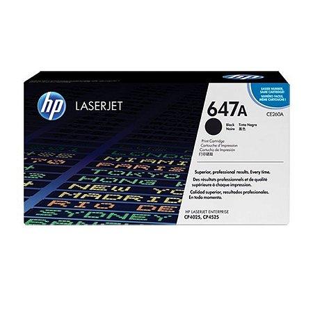 Toner HP CP4525dn | CP4025dn | CE260A Laserjet Preto Original