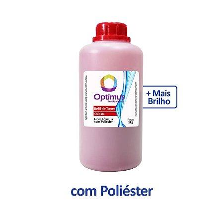 Refil de Toner HP 128A | CM1415 | CP1525nw | CE323A Magenta 1kg